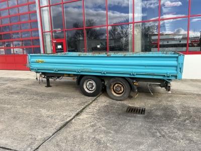 HUMBAUR HTK 10 50 24 Tandem Kipper- Tieflader