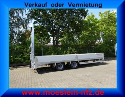 Möslein TTO 19-6,5 Hy 19 t Tandemtieflader, hydr. Rampen -- Neufahrzeug --