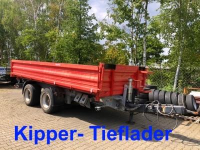 Möslein TTD 19 Schwebheim 19 t Tandemkipper- Tieflader