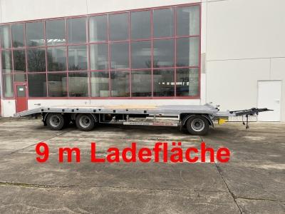 Möslein T 3-P9,2 OR 3 Achs Plato- Tieflader- Anhänger 9 m