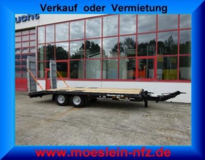 Möslein TTT 11- 6,28P Neuer Tandemtieflader