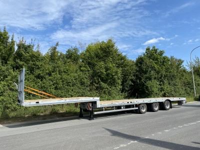 Möslein ST 3-Plato 9,4 3 Achs Tieflader für Fertigteile, Maschinen, Container