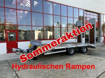 Möslein TT21-7,2 Hydr 21 t Tandemtieflader, Luftgefedert, NEU
